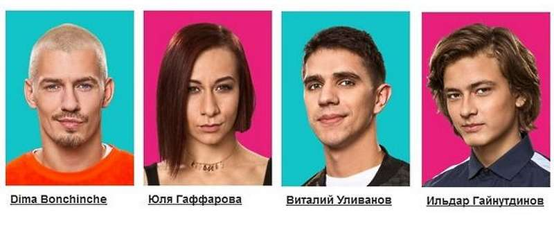 Финалисты 4 сезона Танцы на ТНТ