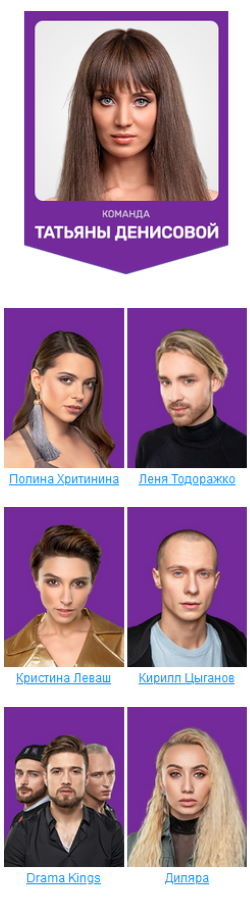 """Участники 6 сезона шоу """"Танцы"""" на ТНТ - Денисова"""